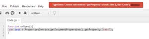 DocumentPropertiesNull